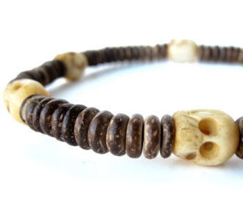 Mens surfer necklace, Tribal Headhunter, by Authentic Men