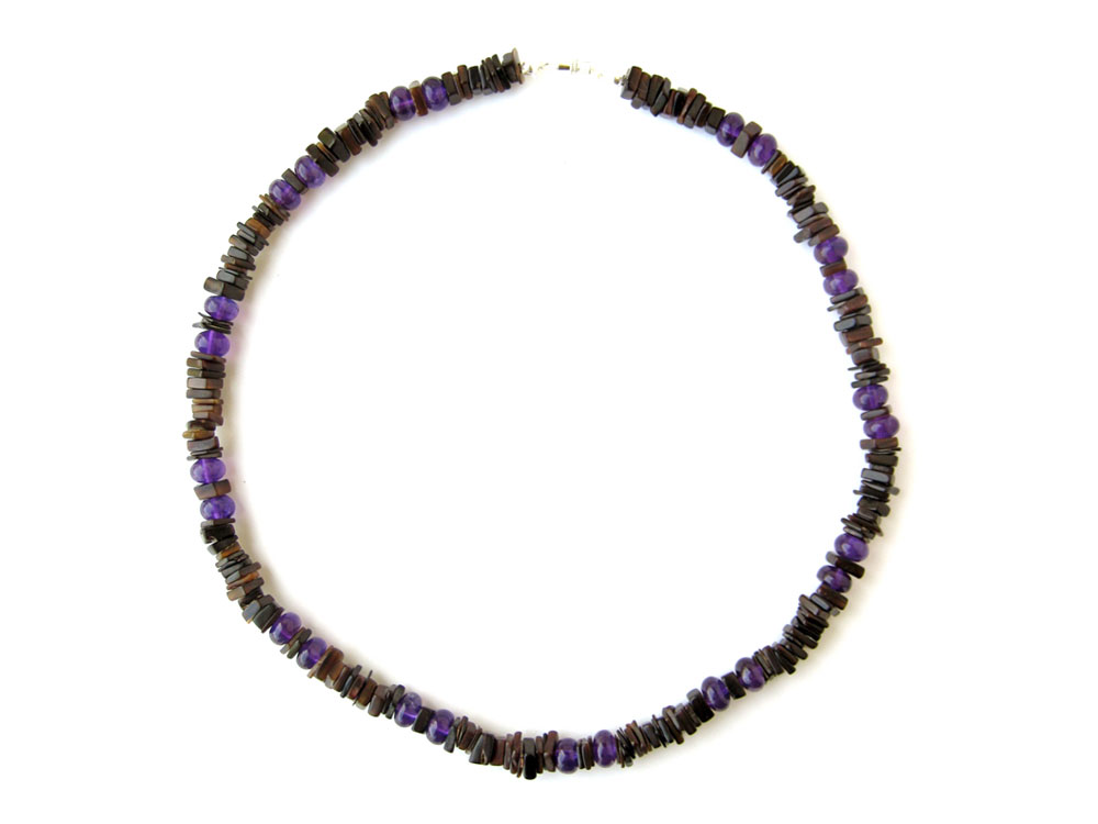Mens surfer necklace midnight amethyst authentic men for Mens jewelry stores near me