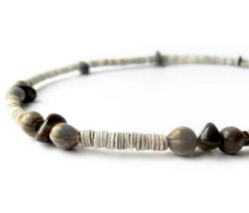 black sands mens necklace by Authentic Men