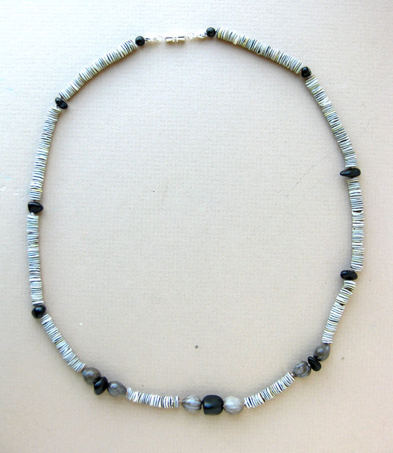 Mens surfer necklace black sands authentic men by for Mens jewelry stores near me