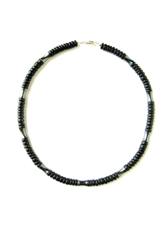Mens surfer necklace dark matter authentic men by for Mens jewelry stores near me