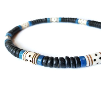 Mens surfer necklace tribal headhunter authentic men for Mens jewelry stores near me