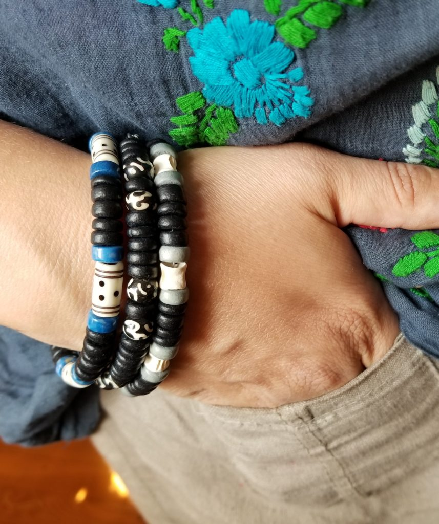 9e311c96a631 Another cool trick is to combine any style with the same color of wooden  beads so the bracelets instantly go together. My online men s jewelry shop  is easy ...